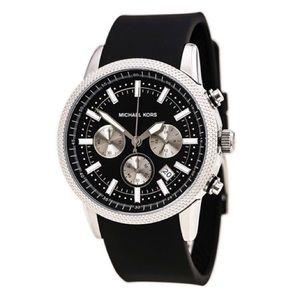 Men's Michael Kors MK8040 Scout Chronograph Black